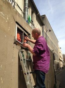 Ph. Hérard en action Paris 11